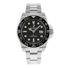 Now in stock Rolex GMT Master II Steel Watch