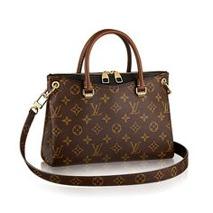 0a6b3c5b38e1 Discover Louis Vuitton Pallas BB  With its touch of color and contemporary  cross-body carry perfectly designed for women on the go