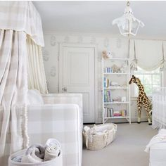 Another to die for nursery by @madredallas featuring our Tole Tent Lantern #madredallas #coleenandcompany #toletentlantern