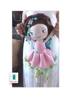 Crochet fairy doll...