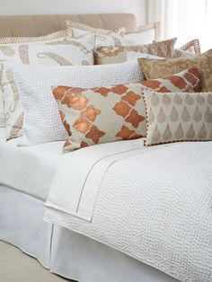Sand Stitched Quilt by John Robshaw on Gilt Home