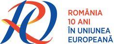 Romania, 10 years in the European Union Romania, 10 Years, Logos, A Logo, Legos