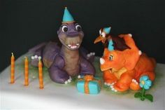 Land Before Time Birthday Cake