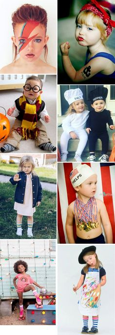 Kids costumes for Halloween and Carnival | Fantasias infantis para Carnaval e halloween.