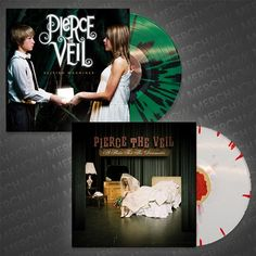 Selfish Machines and A Flair For The Dramatic Vinyl LPs - Pierce The Veil