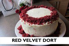 Red velvet dort | smetanovo-máslový krém