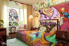 Graffiti Art room