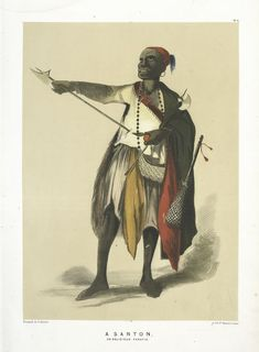 Dervish-Kalenderi, A Santon or Religious Fanatic (1854), NYPL Digital Collection
