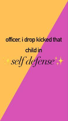 drop kick the child n o w