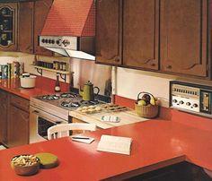 retro home interiors | Vintage Home Decorating 1970s