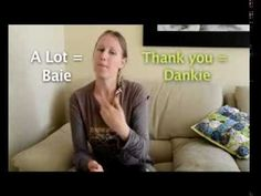 Learn Afrikaans no. 2. How to say Thank you ' Baie Dankie' - YouTube
