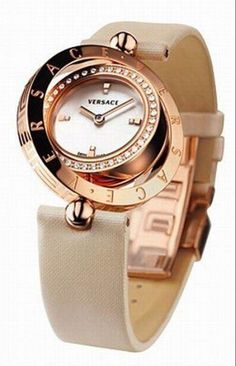 Versace Women's watch|Looking Watch Life-腕時計コレクション-  Definitely my favorite one by far holy crap so amazing<3!
