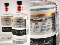 Over the summer, five generations of my family celebrated my grandparents 90th birthday. As a party favor, I commissioned a custom 90-proof Vodka from the folks at CopperMuse Distillery. The body l...