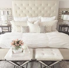 Love just not with white bedding