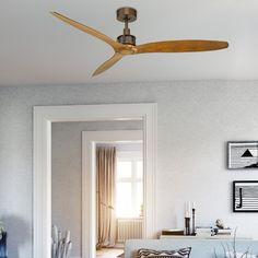 """Viceroy 52""""  Ceiling Fan, Walnut 52 Ceiling Fan, Ceiling Lighting, Bronze, Lights, Home Decor, Drop Ceiling Lighting, Overhead Lighting, Lighting, Interior Design"""