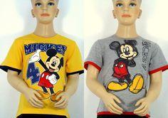Disney Mickey Mouse T-Shirt Kurzarmshirt Gr.92/98,104/110,116/122,128/134