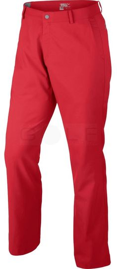 Nike Modern Tech Men's Golf Pants, Dri-Fit, Red, Size 34x32, NWT #Nike
