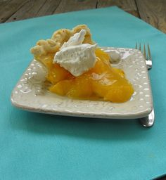Fresh Peach Pie - I used this filling recipe, but not the crust recipe.