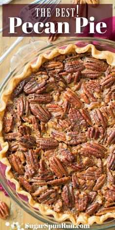 favorite recipes This Pecan Pie recipe is a Fall classic, and a must for any Thanksgiving dessert table. So simple to make with just a handful of ingredients, this favorite recipe is Pecan Pie Cake, Pecan Pie Cheesecake, Pecan Pies, Deep Dish, Profiteroles, Homemade Pecan Pie, Recipe For Pecan Pie, Southern Pecan Pie, Pie Dessert
