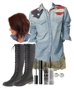 "Malia Tate 5x04 ""Condition Terminal"" Outfit by lili-c on Polyvore featuring H&M, Accessorize, SUQQU and Korres"