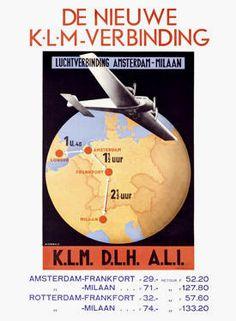 KLM poster