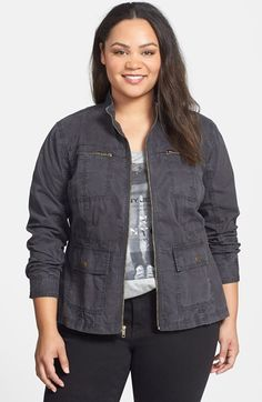 eloquii collarless tweed jacket (plus size) | tweed jackets
