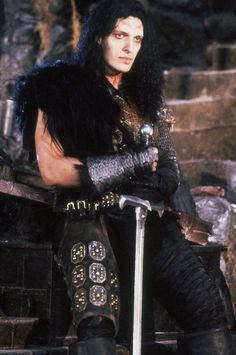 Clancy Brown as the Kurgan in Highlander.