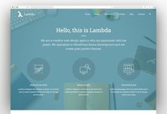Lambda - Multi Purpose Responsive Bootstrap Theme Happy Easter Messages, Creative Web Design, Web Design Agency, Wordpress Theme, Purpose, Things To Come, Templates, Popular, Easter Wishes Messages