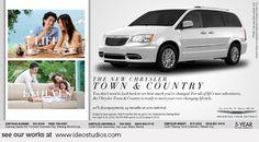 print ad by { ideo studios } Client: Chrysler Corporate Communication, Advertising Agency, Video Photography, Design Development, Print Ads, Digital Media, Packaging Design, Digital Marketing, Studios