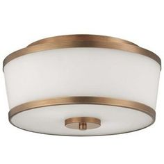 Savoy House 6-4384-13 Midtown Vogue Hagen 2-Light Flush Mount Ceiling Light