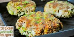 Healthy Ground Turkey Recipes | Avocado Turkey Burgers