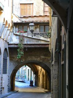 Firenze - scorcio di Via de' Girolami  di Luca 1965