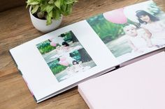 Family Portraits album design and album box