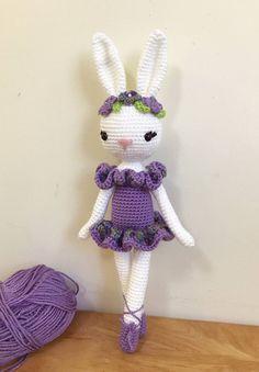 Charlotte the Ballerina Bunny Crochet Bunny Bunny