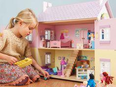 Le Toy Van Puppenhaus Lavender House