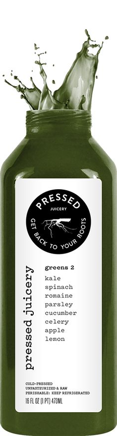 Pressed Juicery - greens 2. I've been drinking this almost every day and I love it. I actually love almost all their drinks. The new coffee ones? I die. #Juice