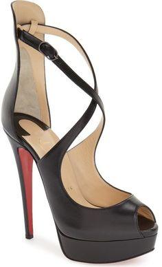 4a270b2ca096 Christian Louboutin  Marlenalta  Platform Peep Toe Pump (Women) Pump Shoes