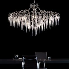 The longest day has past and we are slowly getting into autumn. The hollywood and it's beautifull icicles are a symbol of the cold weather Our Hollywood Icicles collection has for decades graced some of the most beautiful spaces across the globe.  Beyond a simple trend and touching the face of timelessness. Visit our website for more information! Custom Lighting, Modern Lighting, Lighting Design, Beautiful Space, Most Beautiful, Dyi, Décor Boho, Chandelier Pendant Lights, Light Decorations