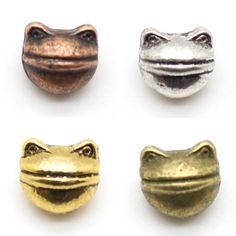 Frog Head Beads - Tibetan Style