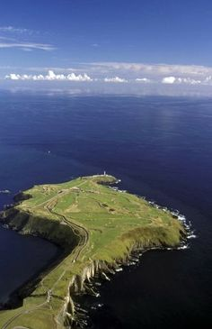 The Headland at Old Head Golf Links, Ireland.  #golf #ireland #oldhead