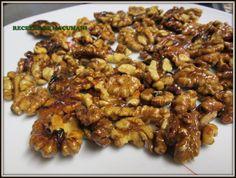 Las nueces caramelizadas son riquísimas,y aquí esta la receta son fáciles de hacer,manos a la obra!
