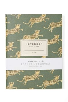 Rifle Paper Co. Safari Notebook Set