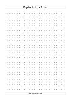 The 0.5 cm Isometric Dot Paper (Portrait) (A) math