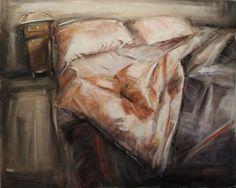 Loredana Cacucciolo,Una notte con Bukowski ,interno 1,olio su tela,cm 80 x 100 x5,ciclo 2007-2013.jpg