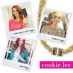 Lots of love for jewelry tricks! #gold #cookielee #looks4less #affordable