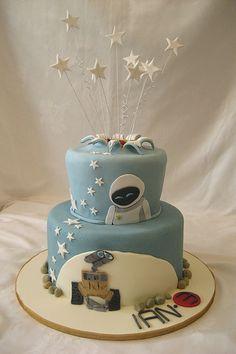Wall-E cake!  Just darn cute!
