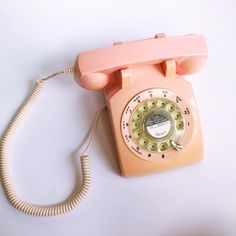 Excited to share this item from my #etsy shop: VINTAGE | 1960s pink rotary phone #vintagedecor #shabbychic #pinkvintage #retrophone #rotaryphone #vintagephone #pinkphone #demarsvintage
