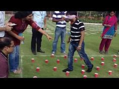 ▶ Team Building Activities Hyderabad - Blind Fold - YouTube