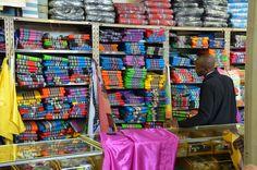Stoffenwinkel in Louis Trichardt, Zuid-Afrika