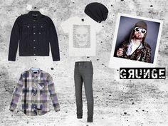 #Grunge #Look für men  Bench Spring Summer 2013